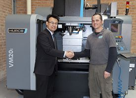 New Hurco CNC Vertical Machining Centre boosts Custom Plenum Creations' productivity and quality.